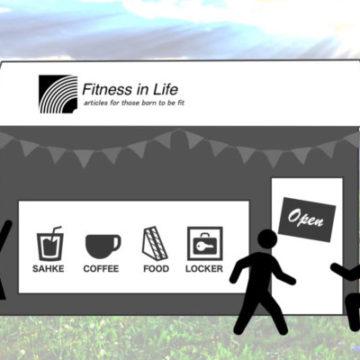 """実店舗""""Fitness in Life the KIOSK""""オープンに向けて始動しました"""